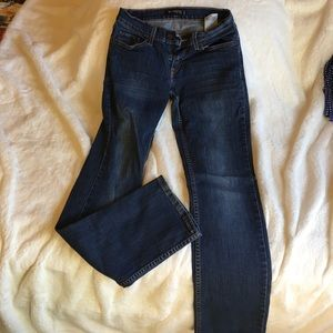 Levi's 524 too superlow straight leg jeans